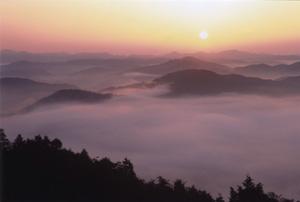 一度は見てみたい広島の絶景、霧の海