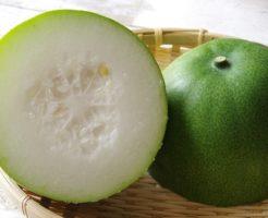 カリウムたっぷりの「冬瓜」に含まれる栄養素と体への効果